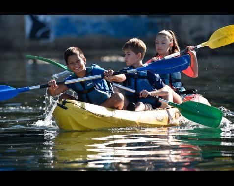 Stages de kayak/paddle été...